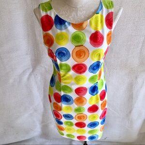 Vintage Dress Clown Crayons Painter Go-Go Costume